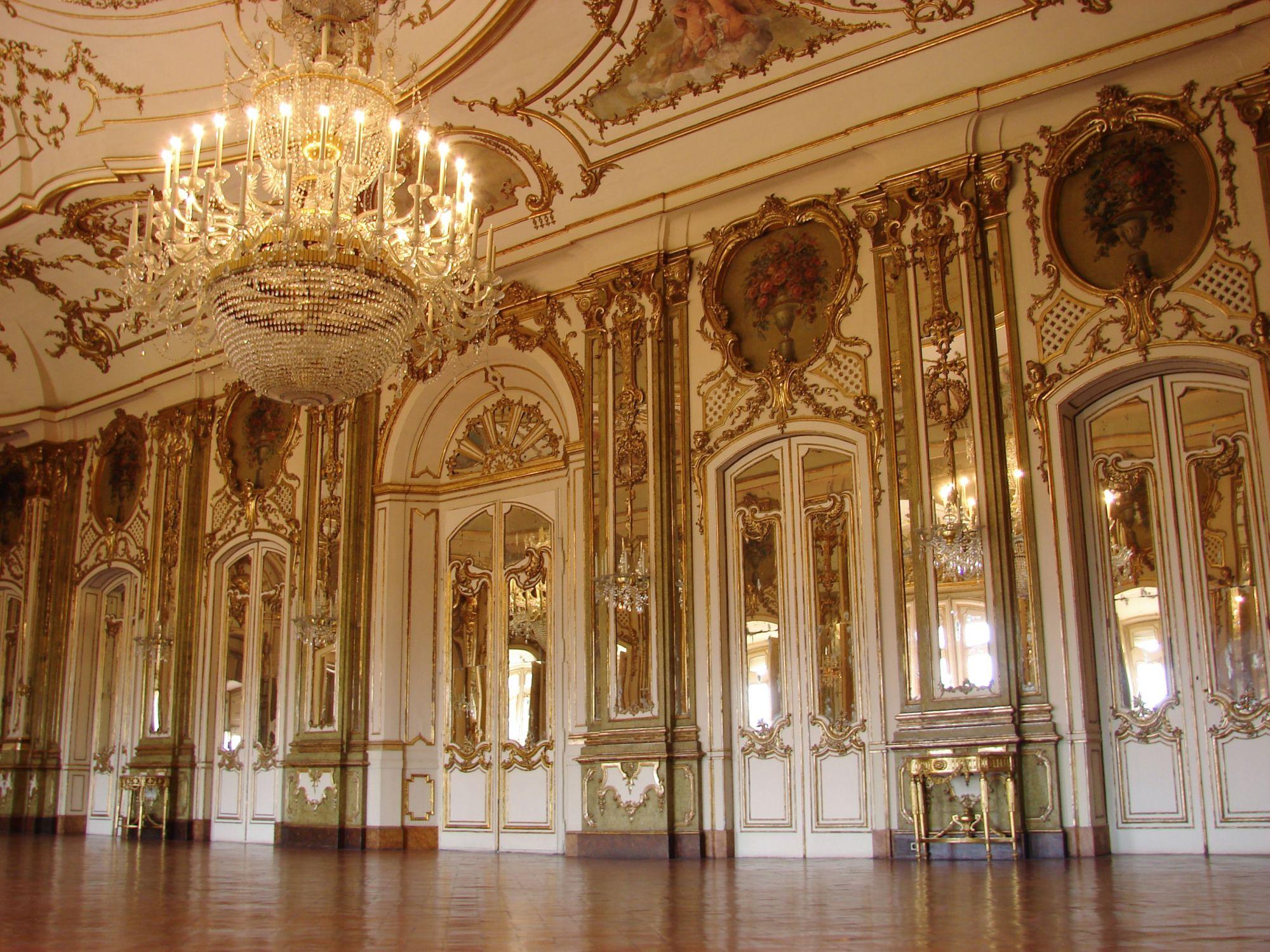 Barokkiajan palatsi