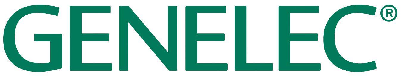 weblaatu Genelec logo vihreä