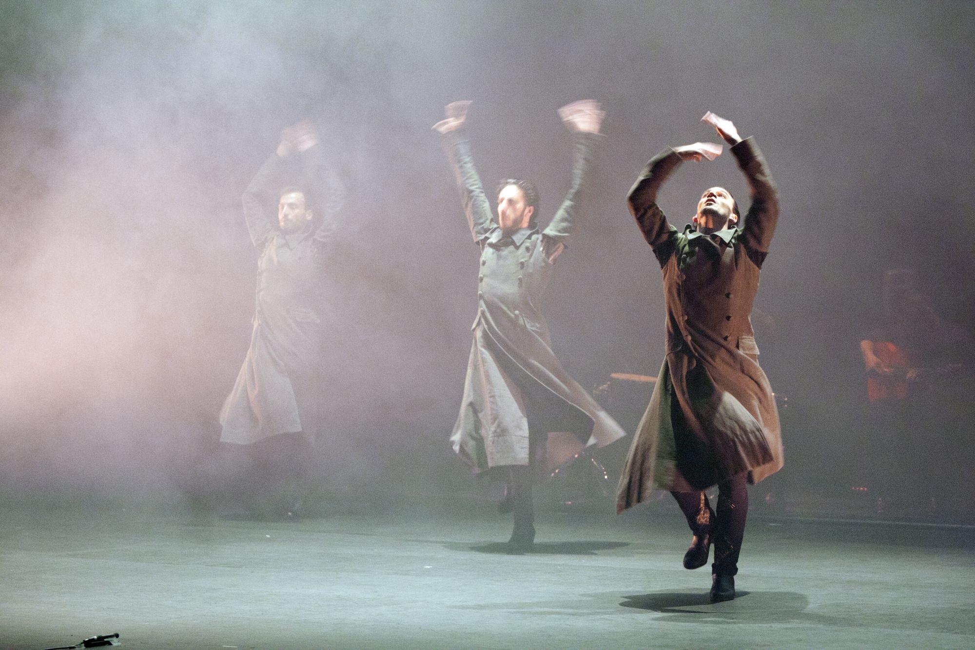Cia Marco Flores Flamenca Danza, Laberintica, chor. Marco Flores, 2015