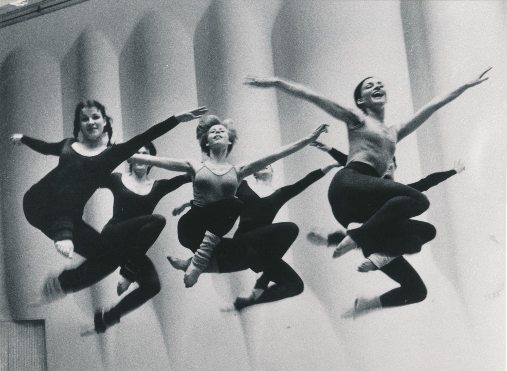 1986, Vivianne Budsko, Anneli Rautiainen, Nina Marttinen, Tiina Lindfors, Mirja Tukiainen