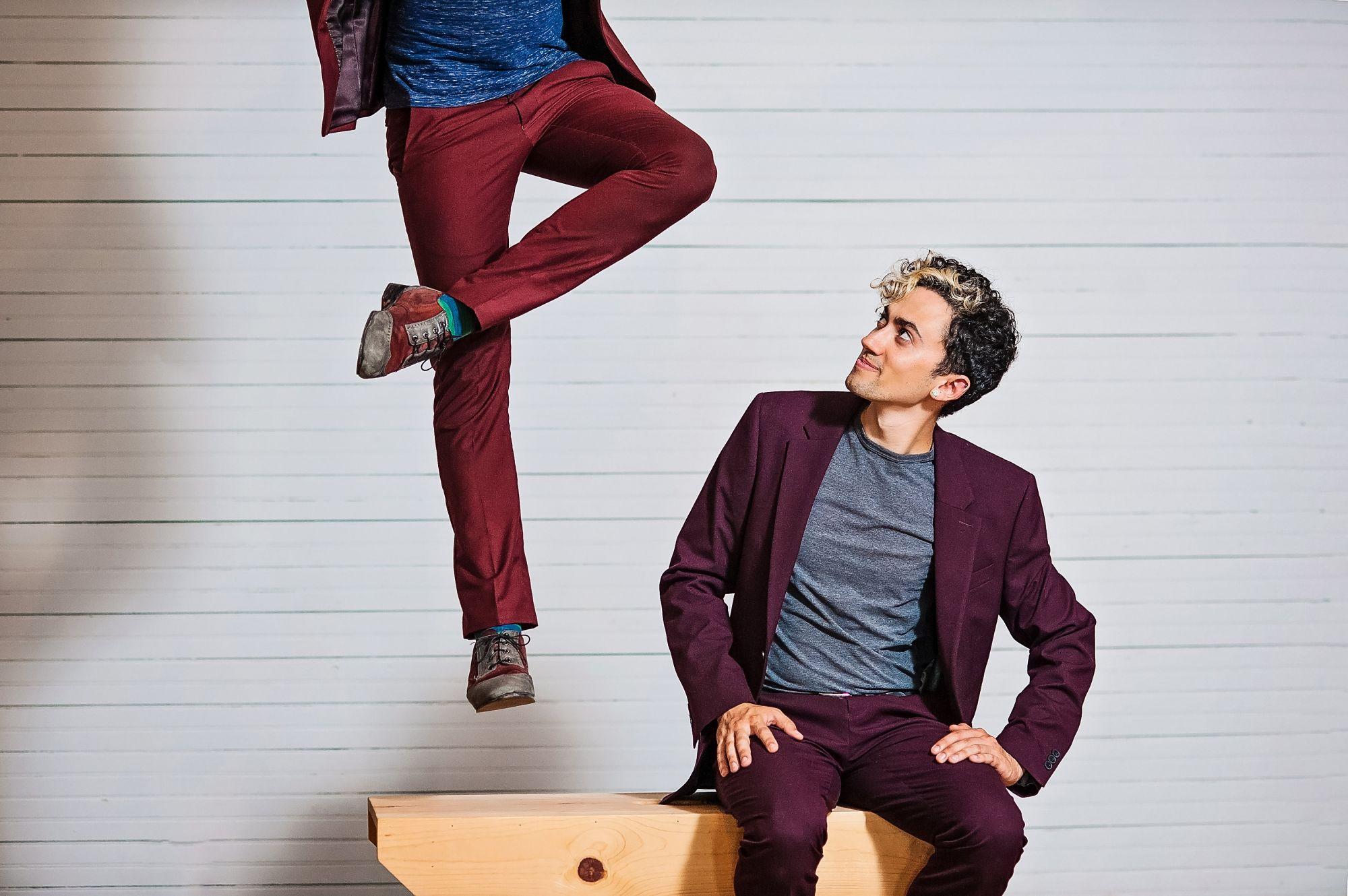 Caleb Teicher & Nic Gareiss (USA): Caleb & Nic